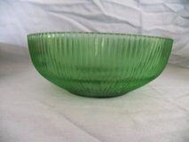 Small Green Glass Bowl in Spring, Texas