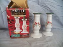 Corelle Christmas Candle Holders in Spring, Texas