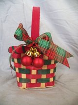 Small Christmas Basket in Spring, Texas
