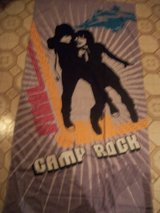 #6433 DISNEY CAMP ROCK XL BEACH TOWEL NEW in Fort Hood, Texas