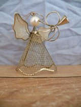 Wire Mesh Angel Ornament in Spring, Texas
